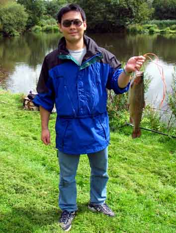 Hiro catches at Blakewell